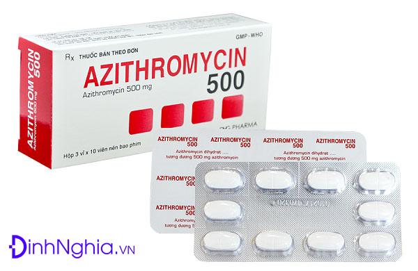 azithromycin là thuốc gì và những lưu ý khi dùng