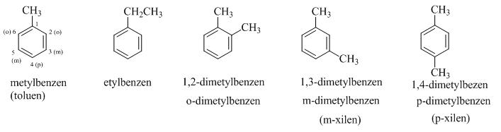đồng đẳng đồng phân và danh pháp của benzen hóa 9