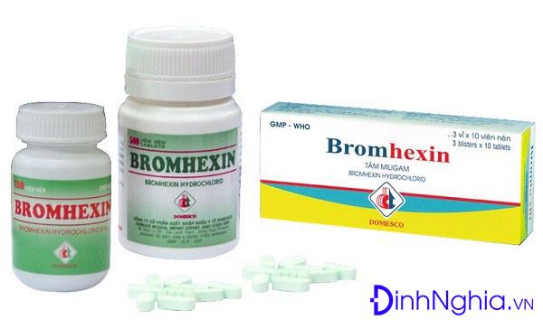 tìm hiểu bromhexin là thuốc gì