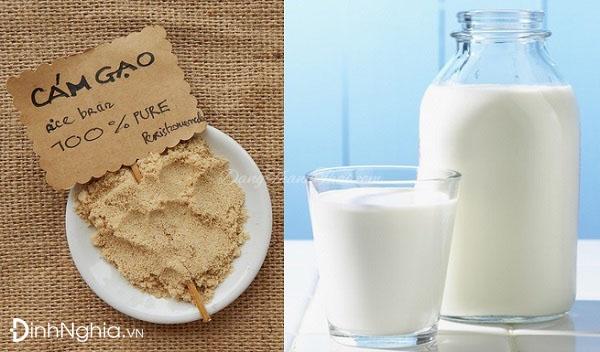 cám gạo là gì và thế nào là cám gạo sữa