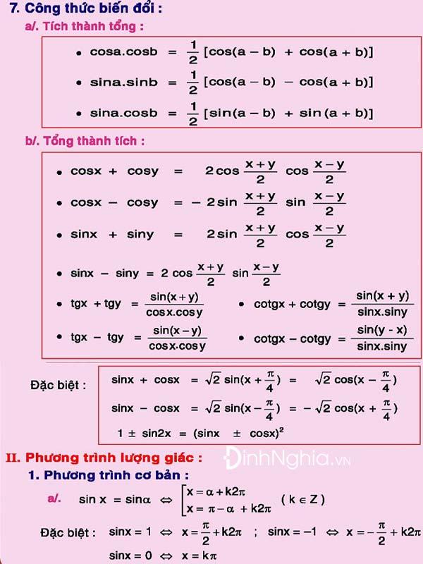 toàn bộ công thức toán 12 và hình anh 7