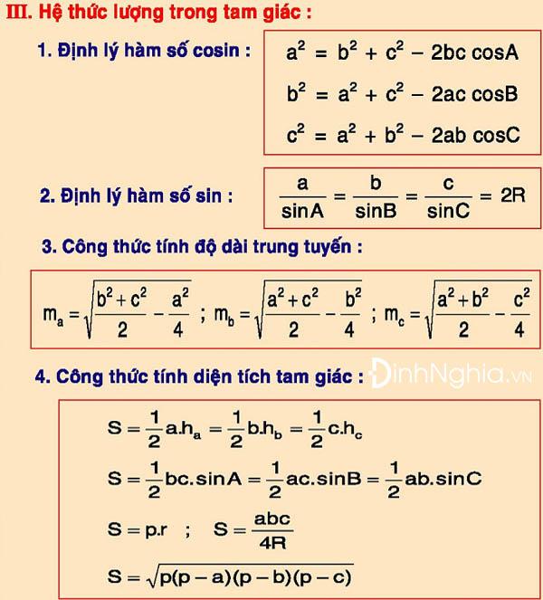 toàn bộ công thức toán 12 và hình anh 9