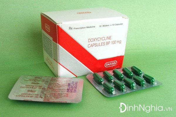 tìm hiểu doxycycline là thuốc gì
