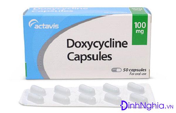doxycycline là thuốc gì và những tác dụng của doxycycline