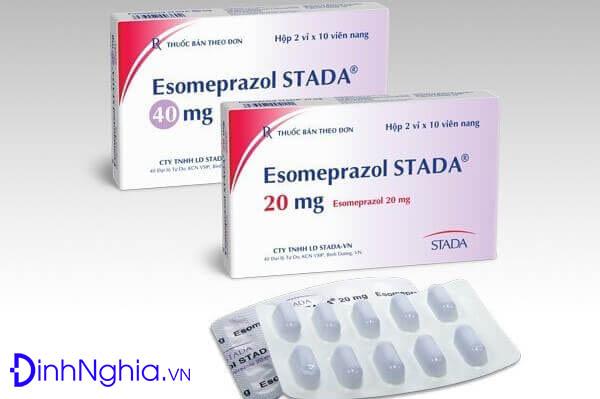 tìm hiểu esomeprazole là thuốc gì