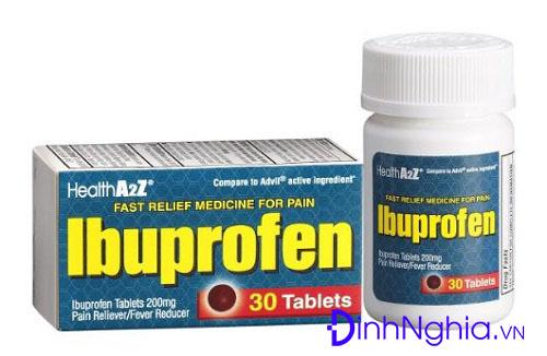 ibuprofen là thuốc gì và cách sử dụng ibuprofen