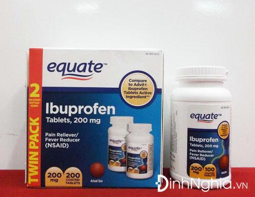 tìm hiểu ibuprofen là thuốc gì