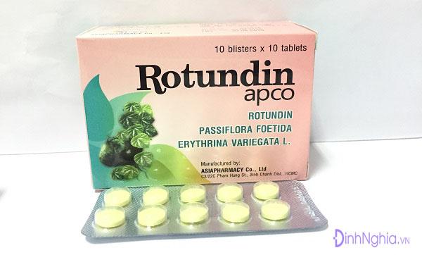 tìm hiểu rotundin là gì