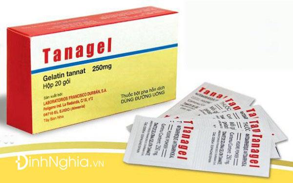 tìm hiểu tanagel là thuốc gì