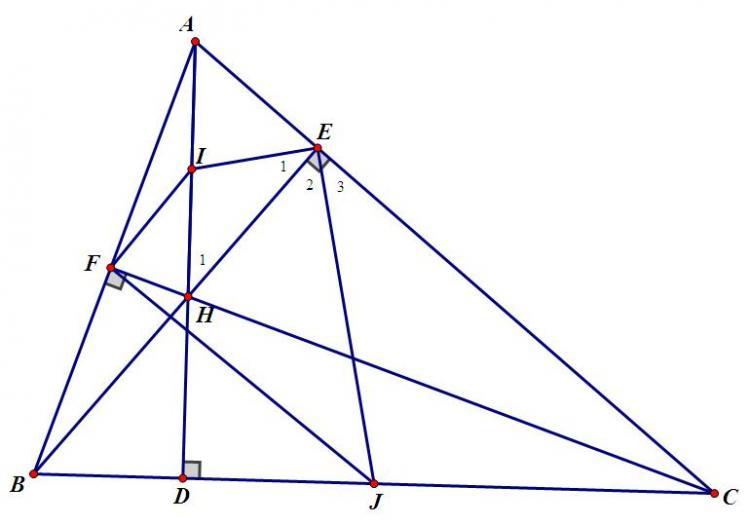 tính chất trực tâm và các dạng toán liên quan