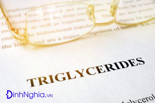 tìm hiểu chỉ số triglycerid là gì
