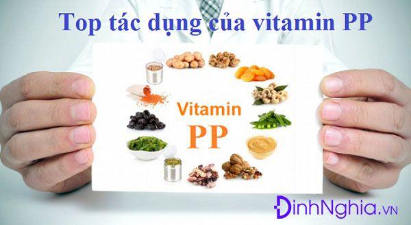 tác dụng của vitamin pp là gì