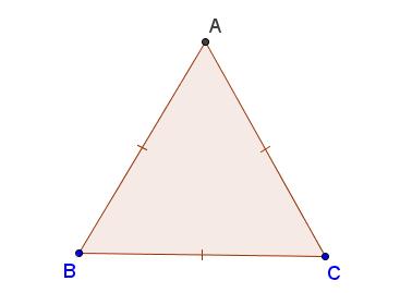 tam giác đều và công thức tính diện tích tam giác đều