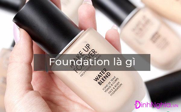tìm hiểu foundation là gì