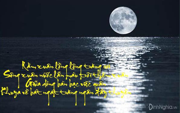 cảm nhận và phát biểu cảm nghĩ về bài thơ rằm tháng giêng