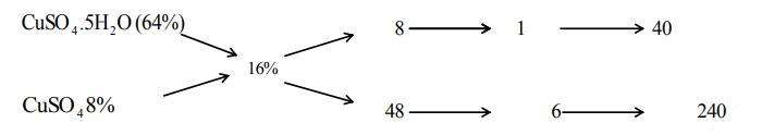 áp dụng phương pháp đường chéo