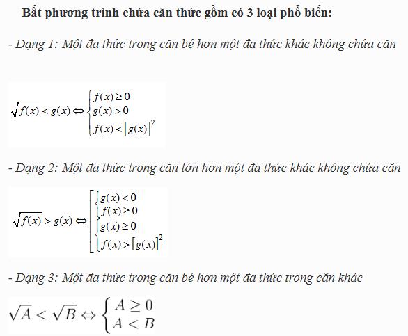 tìm hiểu về phương trình chứa căn