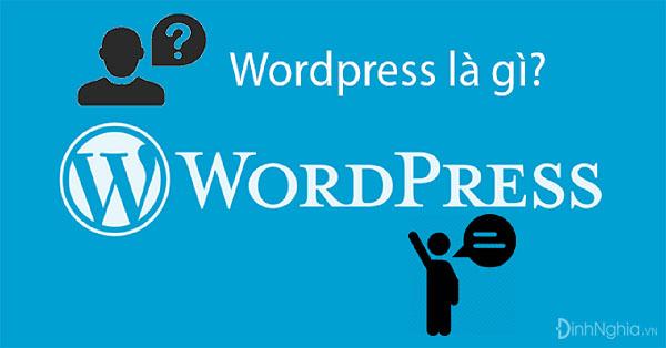 tìm hiểu wordpress là gì