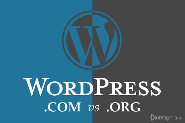 wordpress là gì và so sánh giữa wordpress.com và wordpress.org