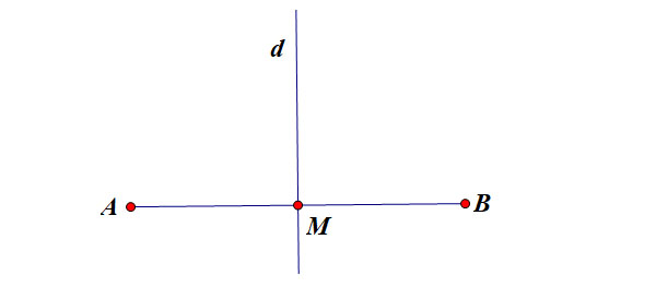chứng minh trung điểm qua tính chất trục