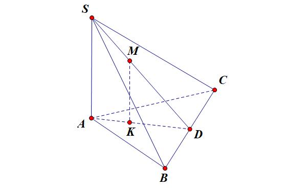 ví dụ đường thẳng vuông góc với mặt phẳng