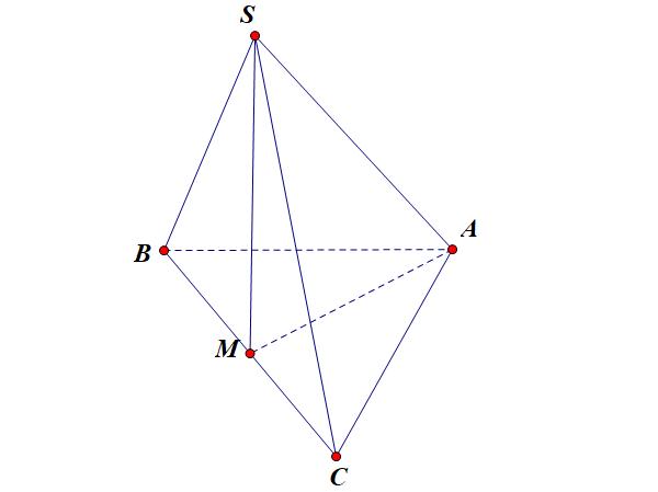tính góc giữa đường thẳng và mặt phẳng