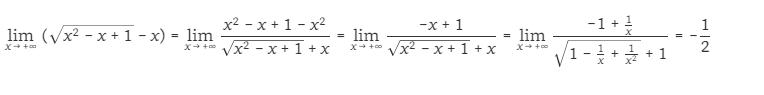 giới hạn của hàm số tại vô định