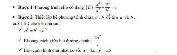 phương pháp tọa độ trong mặt phẳng và phương trình elip