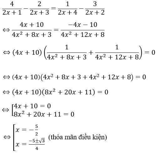 phương trình chứa ẩn ở mẫu và hình ảnh minh họa