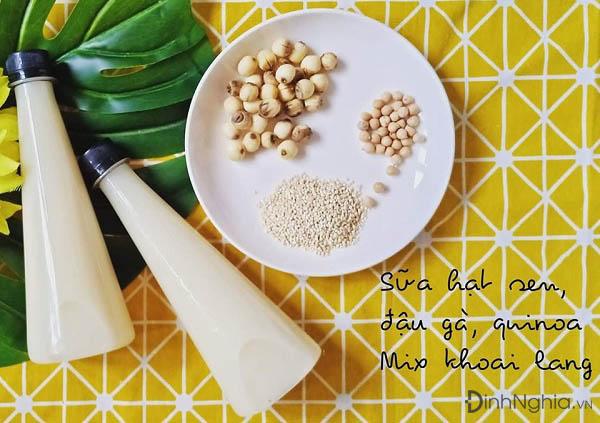 sữa hạt là gì uống có béo không