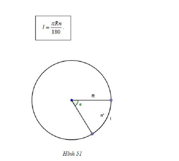 tìm hiểu tính độ dài cung tròn