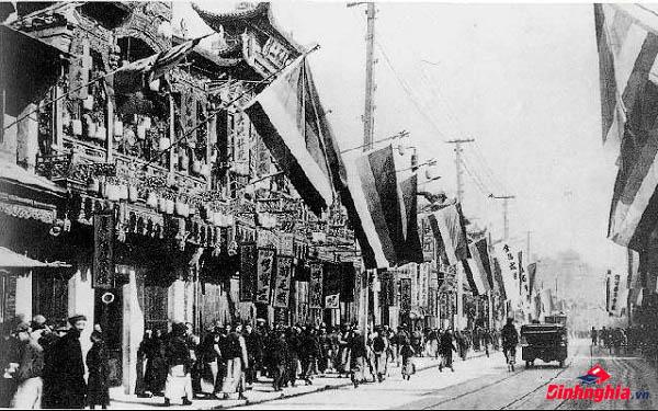 diễn biến của cách mạng tân hợi 1911