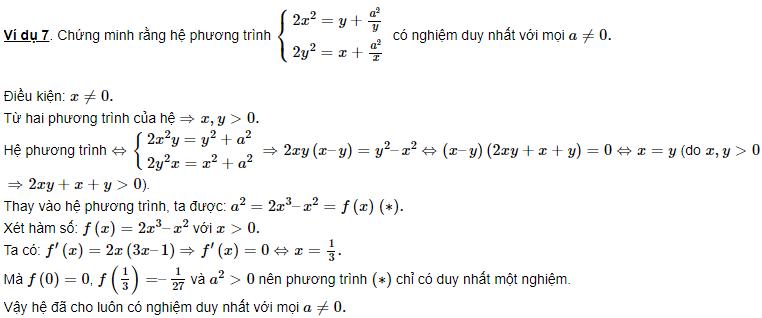 hệ phương trình đối xứng và một số bài tập cơ bản