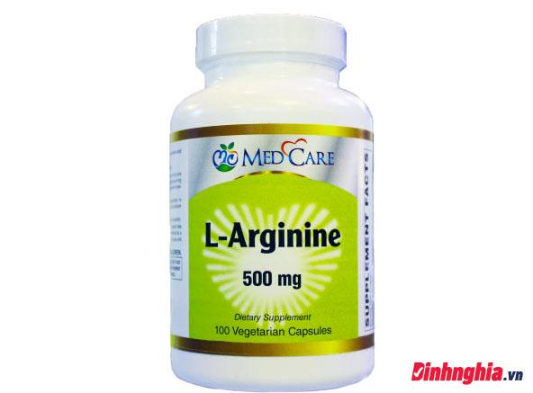 vai trò và tác dụng của l-arginine là gì
