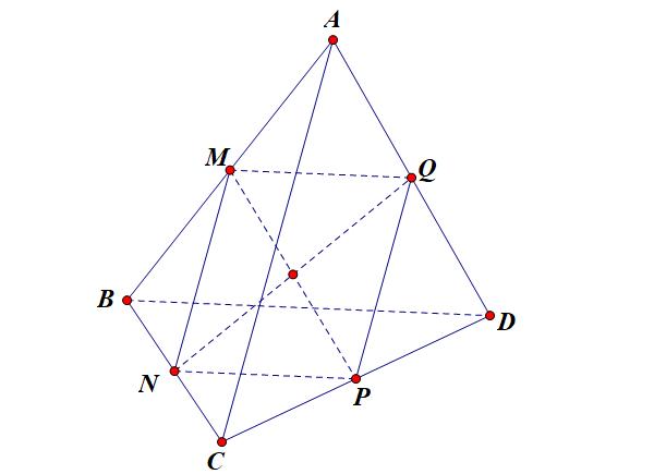 lý thuyết trọng tâm của tứ diện