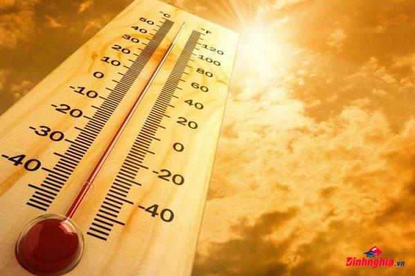 hậu quả hiện tượng biến đổi khí hậu