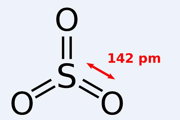 công thức của lưu huỳnh trioxit
