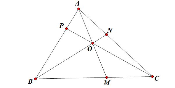 định lý ceva dạng lượng giác