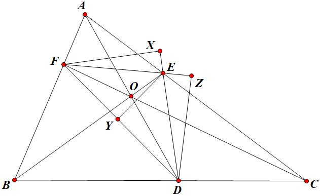 ví dụ về định lý ceva