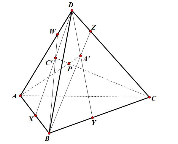 một số bài tập về định lý ceva