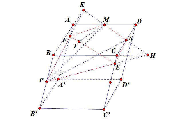 cách tìm thiết diện của hình lập phương