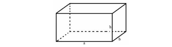 công thức tính thể tích hình hộp chữ nhật