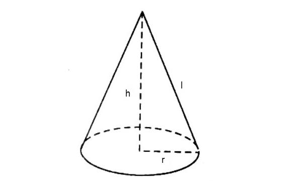 tìm hiểu công thức tính thể tính hình nón