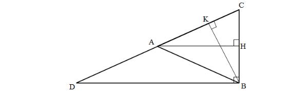 đường cao là gì và cách tính đường cao trong tam giác vuông