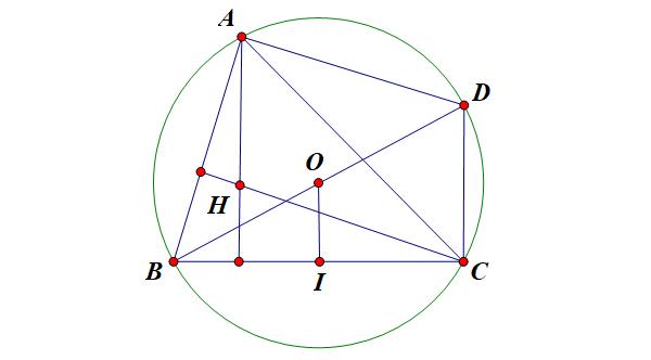 cách chứng minh tính chất trực tâm tam giác