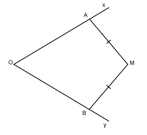 định lý đảo tia phân giác của một góc