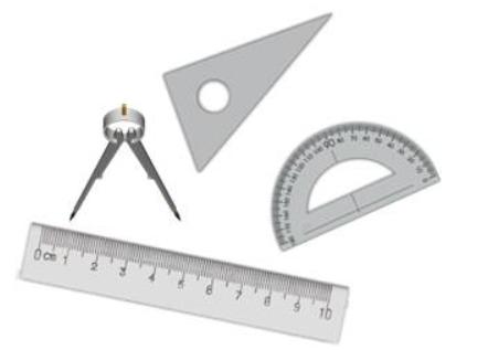 cách vẽ tia phân giác bằng compa