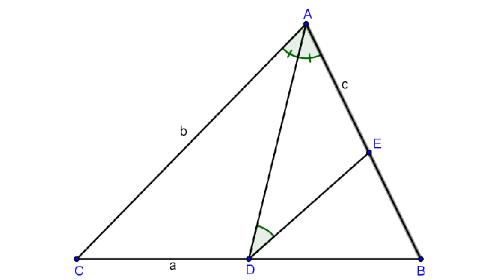 bài tập tự luyện tính chất đường phân giác của tam giác