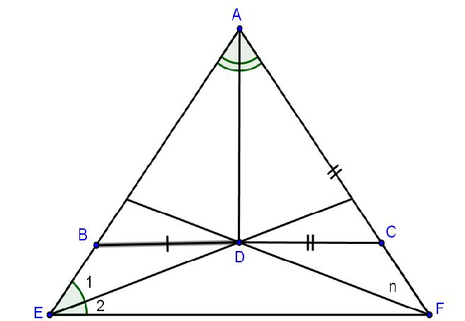 tính chất đường phân giác và một số dạng ví dụ điển hình