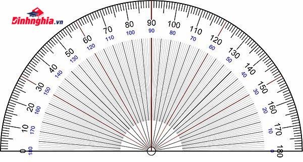 cách tính số đo góc